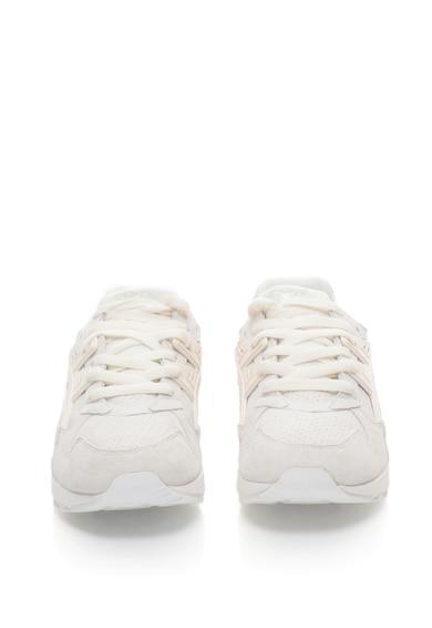 ASICS Tiger Pantofi sport de piele intoarsa cu detalii perforate GEL-KAYANO, Unisex Femei