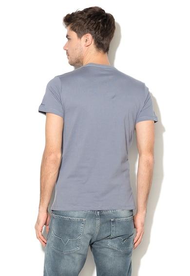 Pepe Jeans London Tricou slim fit cu imprimeu foto Rowena Barbati