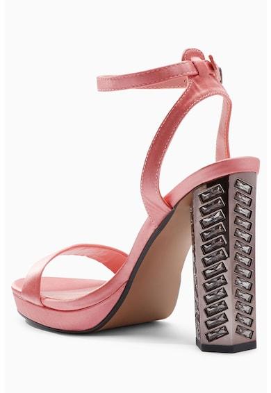 NEXT Sandale din satin cu toc decorat Femei