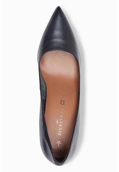 NEXT Pantofi cu toc cilindric si varf ascutit Femei