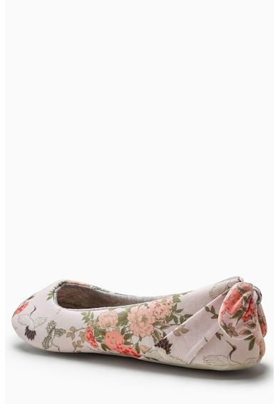 NEXT Papuci cu varf rotund si funda pe partea din spate Femei