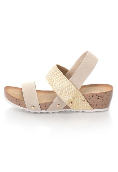 Release Sandale cu barete elastice,  Material textil si piele sintetica Femei