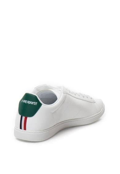 Le Coq Sportif Pantofi sport de piele sintetica cu aplicatie logo Courtset Barbati