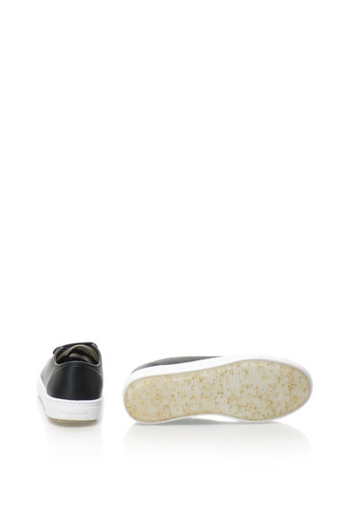 Le Coq Sportif Pantofi sport de piele cu detalii stralucitoare Jane Femei