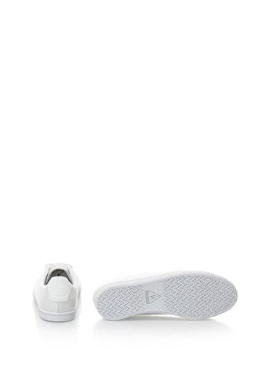 Le Coq Sportif Pantofi sport de piele intoarsa cu aspect lacuit Charline Femei