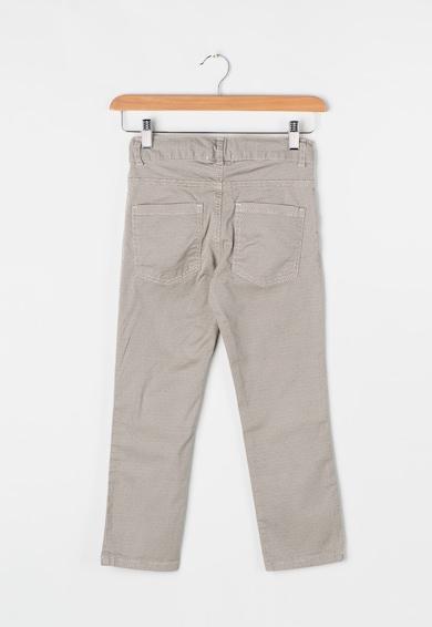 Zee Lane Kids Pantaloni bej cu model discret Baieti