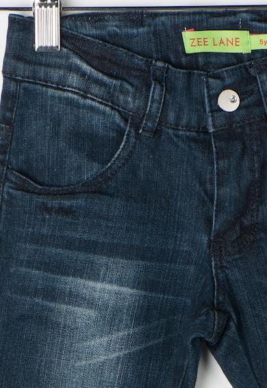 Zee Lane Kids Jeansi albastru inchis cu aspect decolorat Baieti