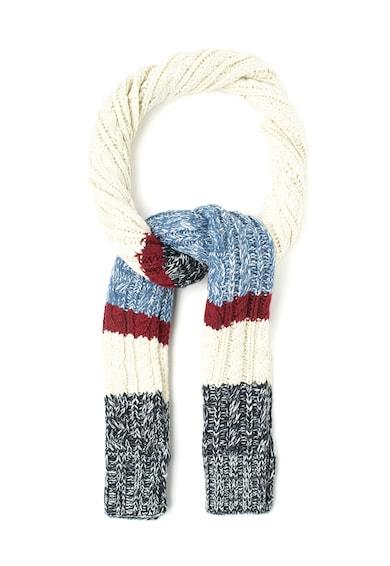 Pepe Jeans London Fular multicolor cu torsade Quito Femei