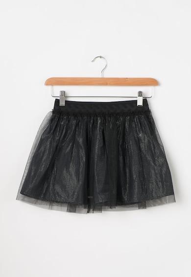 Pepe Jeans London Fusta argintie cu tul negru Federica Fete