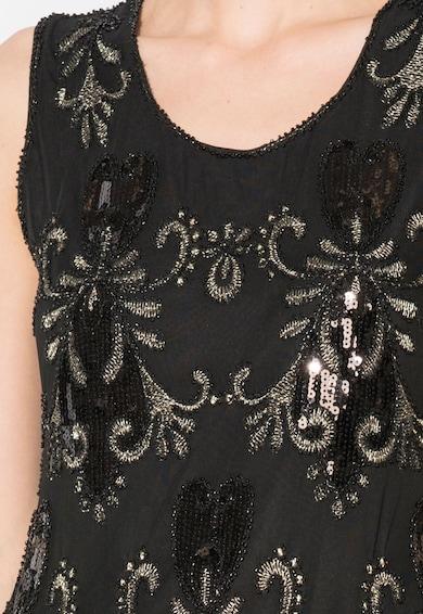 Zee Lane Collection Rochie neagra cu model din paiete Femei