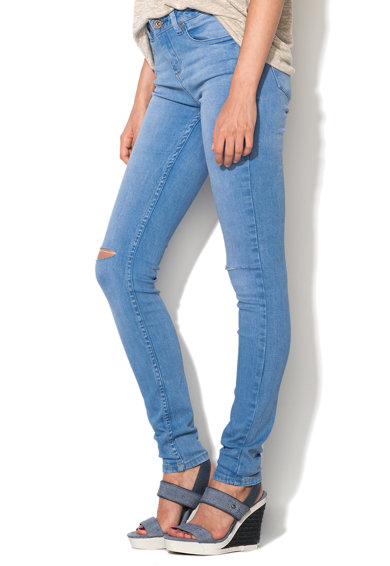 NEW LOOK Jeansi skinny bleu Slash Femei