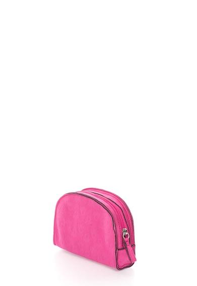 Undercolors of Benetton Geanta roz pentru cosmetice cu logo Femei