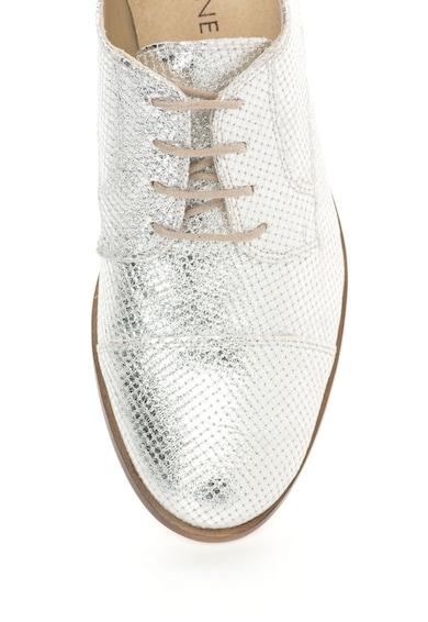 Zee Lane Pantofi Oxford argintii Sibil Femei