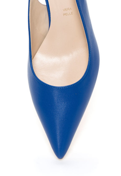 Zee Lane Pantofi slingback albastri din piele Femei