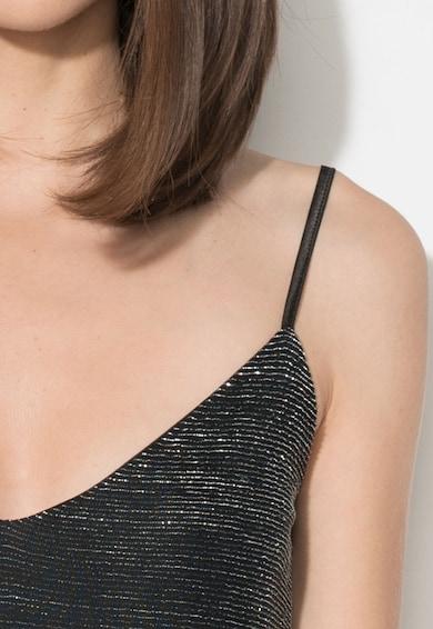 Zee Lane Collection Rochie tip furou neagra cu terminatie de dantela Femei