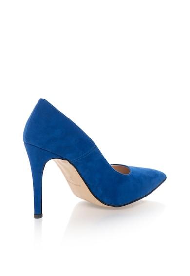 Oakoui Pantofi albastru royal de piele intoarsa sintetica Miriam Femei