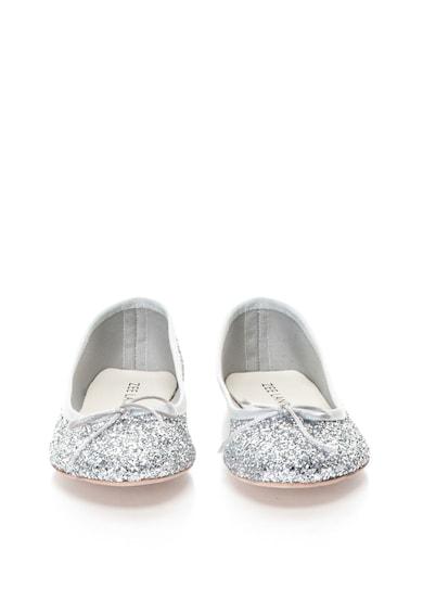 Zee Lane Balerini argintii cu particule stralucitoare Femei