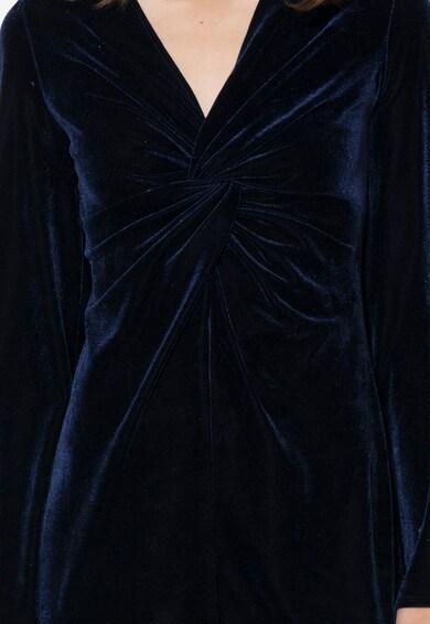 Zee Lane Collection Rochie bleumarin inchis catifelata Femei