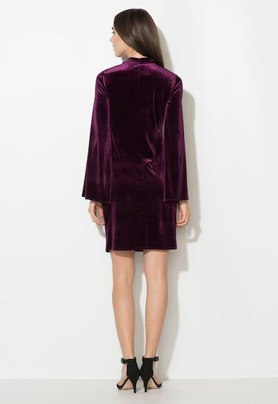 Zee Lane Collection Rochie violet tyrian catifelata Femei