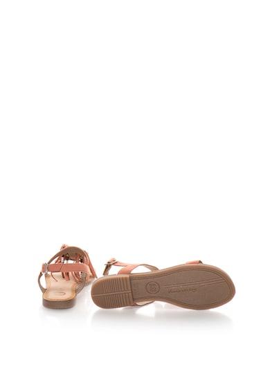 Gioseppo Sandale roz prafuit de piele intoarsa Lariku Femei