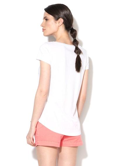 Napapijri Tricou alb din amestec de lyocell Selegua Femei