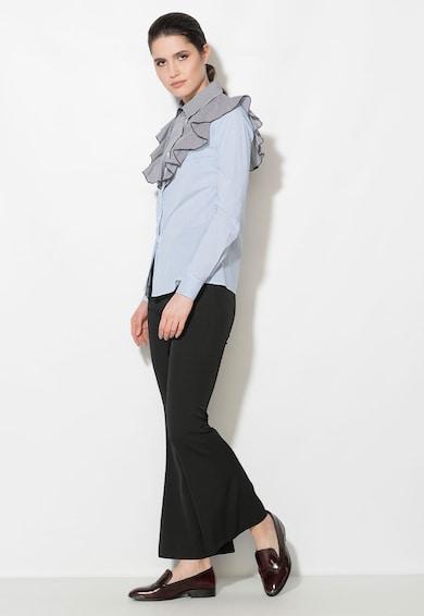 Zee Lane Denim Camasa multicolora cu model in dungi si gingham Femei