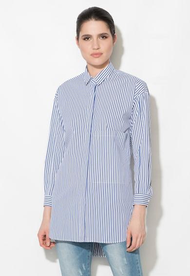 Zee Lane Denim Camasa albastru cu alb in dungi Femei