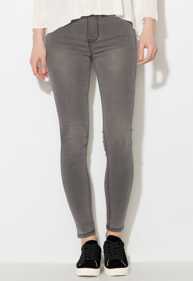 Zee Lane Denim Jeansi skinny elastici gri Femei
