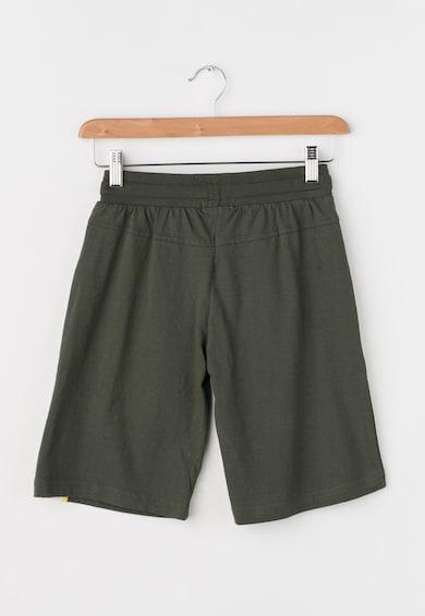 Zee Lane Kids Bermude verde militar cu garnituri galbene Baieti