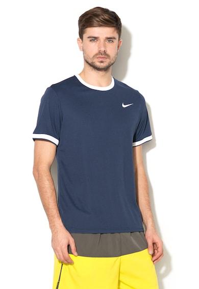 Nike Tricou cu decolteu la baza gatului, pentru tenis Barbati