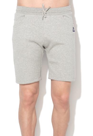 Le Coq Sportif Pantaloni scurti sport gri melange Barbati