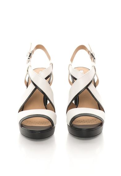 Geox Sandale negru cu alb Mauvelle Femei