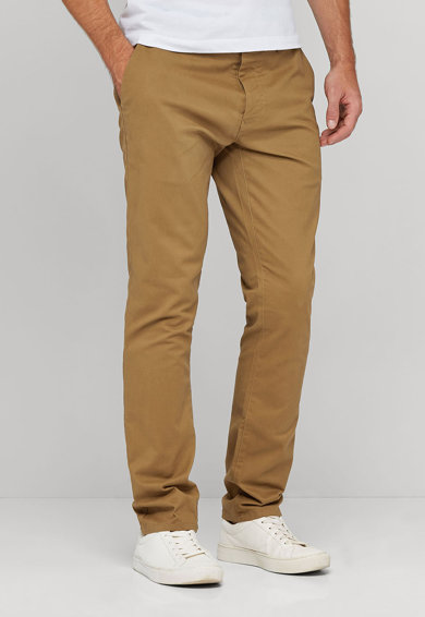 NEXT Pantaloni chino maro camel Barbati