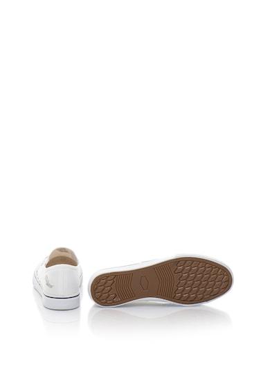 Fiorucci Pantofi slip-on albi cu paiete Femei