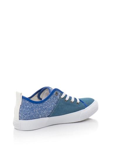 Fiorucci Pantofi sport albastri cu insertii stralucitoare Femei