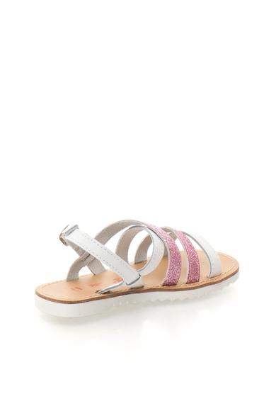 Zee Lane Sandale alb cu roz stralucitoare Alice Fete