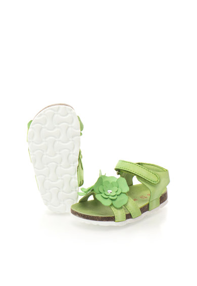 Zee Lane Sandale verzi cu aplicatii florale Ariel Fete