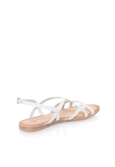 Gioseppo Sandale albe de piele Leonie Femei