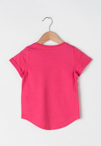 Esprit Tricou roz cu imprimeu grafic Fete