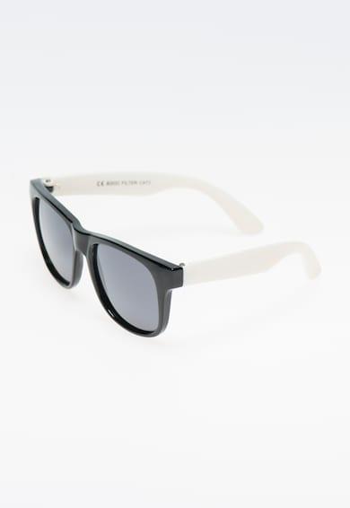 Polaroid Ochelari de soare negru cu alb si lentile polarizate  Fete