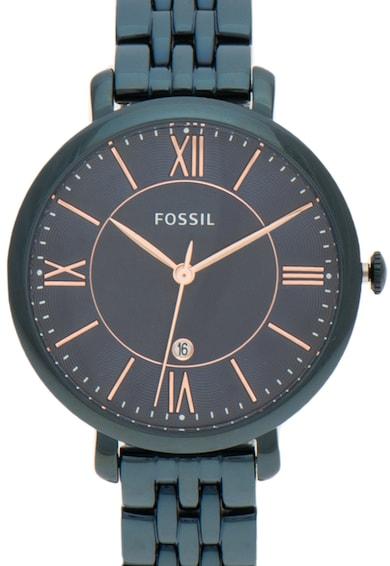 Fossil Ceas bleumarin inchis Jacqueline Femei
