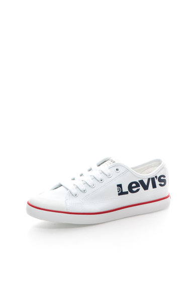 Levi's Tenisi albi cu logo Femei