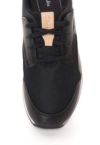 Clarks Pantofi sport cu garnituri de piele intoarsa Floura Femei