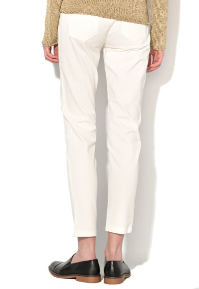 Pennyblack Pantaloni crop alb unt Lampara Femei