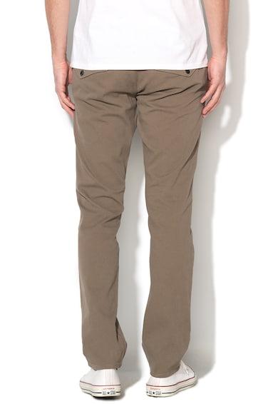 GUESS JEANS Pantaloni chino skinny verde oliv pal Myron Barbati