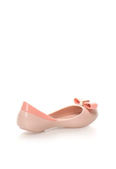 Melissa Balerini roz pastel cauciucati cu varf decupat Mel Queen III Baieti