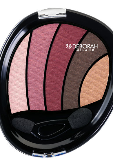 Deborah Paleta de farduri 02 Rose Perfect Smokey Eyes Femei