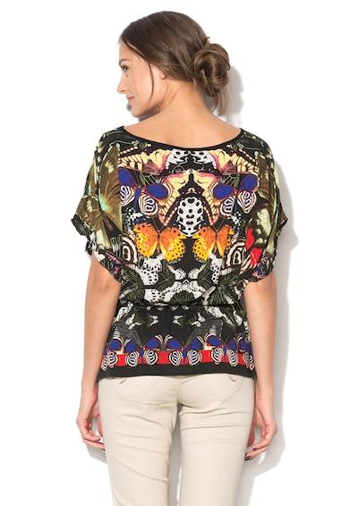 DESIGUAL Bluza multicolora cu imprimeu Indira Femei