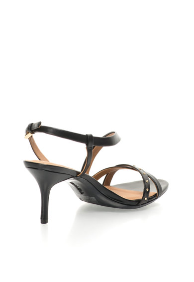 Calvin Klein Sandale negre de piele Lorelai Femei
