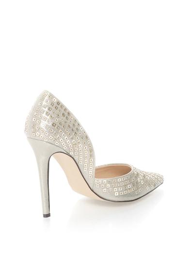 Versace 19.69 Abbigliamento Sportivo Pantofi argintiu deschis cu varf ascutit Yolande Femei